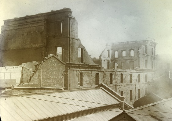 The Great Fire of Melbourne 1897
