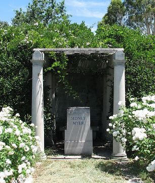Sidney Myers Grave Site