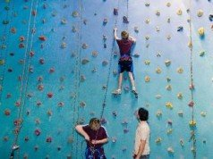 Cliff Hanger Climbing Gym