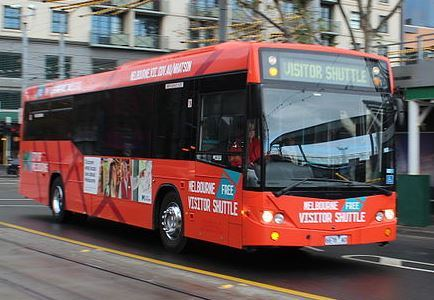 Melbourne Visitor shuttle