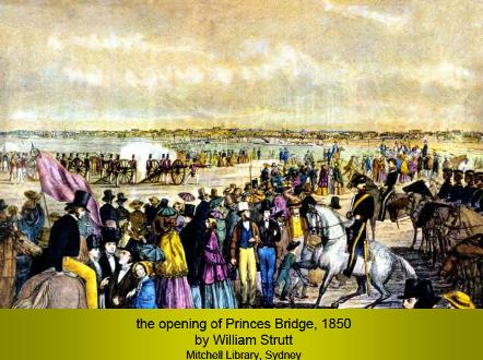 Princes brige opening 1850
