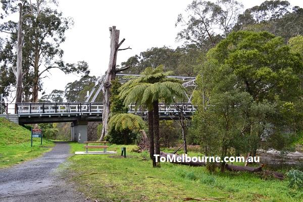 Brisbane Bridge across Yarra at Waburton