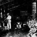 Duigan at his workshop