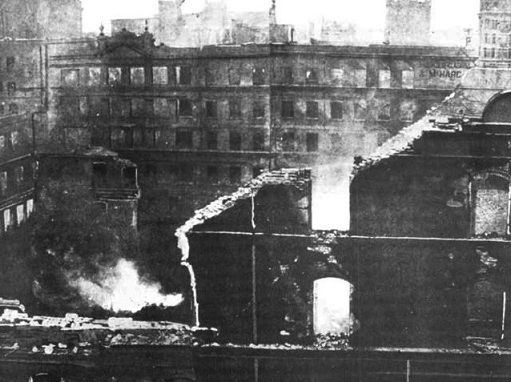 Elizabeth Street Great Fire 1897