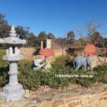 Garden at Stupa