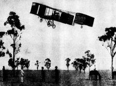 Harry Houdini's flight in Melbourne 1910