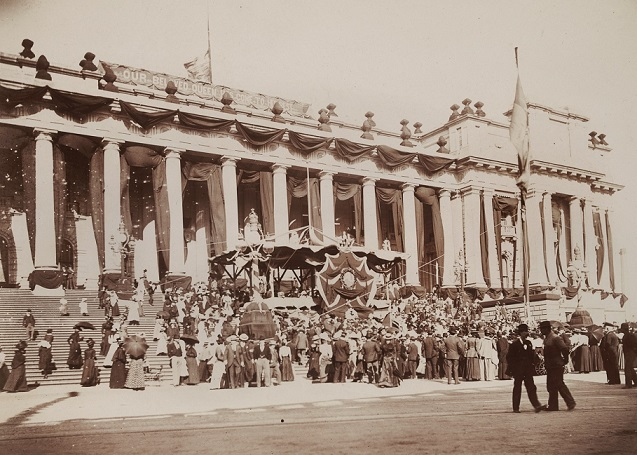 Mourning for Queen Victoria - Parliament House.